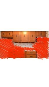 Maple Kitchen Cabinets - Please Read The Ad