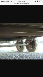 Wanted : trailer axle 3500 pound / trailer tires