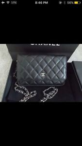 Athunthic  Chanel woc wallet on chain bag