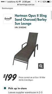 Mimosa sun loungers x2. Must be sold! Amazing low price!!