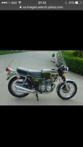 WANT TO BUY  Honda cb350four