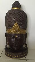 MAJESTIC WOOD CARVED BUDAH HEAD Cleveland Redland Area Preview