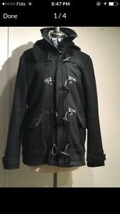 H&M wool coat - gently used; size 44