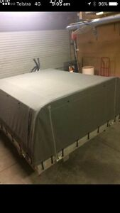 Alloy tray and removable canopy and frame. Suit Any dual cab ute Beresfield Newcastle Area Preview