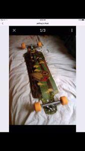 long board and gear  (rayne)