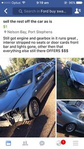 Wrecking xr6 or sell whole Anna Bay Port Stephens Area Preview