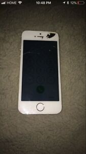 Iphone 5s cracked n i cloud locked