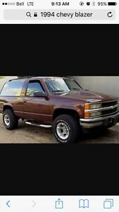 WANTED 1994 CHEVY BLAZER