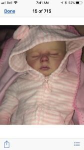 Authentic Realborn reborn doll forsale