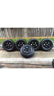 Toyota Hilux Wheels And Tyres 16 Inch Genuine 4X4 Set Of 5  Revesby Heights Bankstown Area Preview