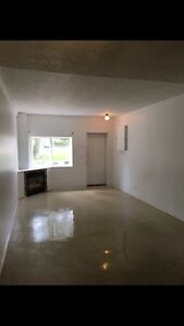 Two bedroom townhouse gas fireplace Garson fresh paint
