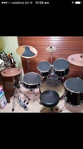 Drum kit great condition Carine Stirling Area Preview