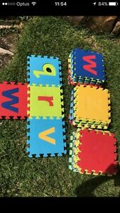 60 x Foam Letters / Shapes Erina Gosford Area Preview