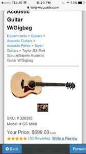 Taylor GS mini ** looking for one**