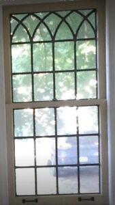 Vintage Leaded Windows