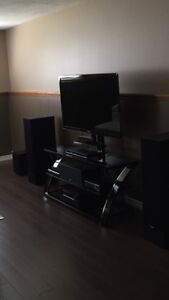 Tv /stand and complete home theatre package