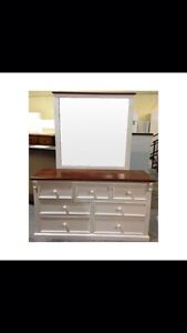 One Stop Pine Australian Made Matching Wardrobe and Dresser Telarah Maitland Area Preview