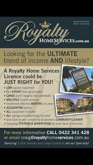 Franchise (business licensed area) redcliffe and surrounding suburbs