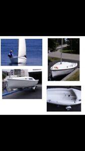 "Sirocco 15"" Sailboat - Great Shape"