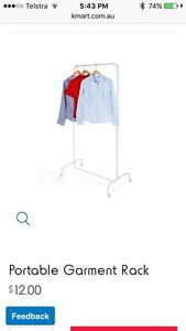 Portable garment stand Kyabram Campaspe Area Preview