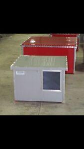 Insulated & heated dog house