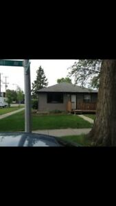 2 bedroom house for rent with single car garage off Whyte ave