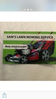 Lawn mowing Grass cutters