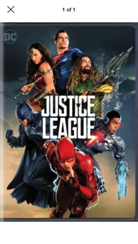 New: Justice League (dvd, 2017)-action Free Shipping.