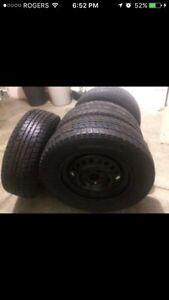 Dunlop winter tires 195/65/R15