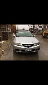 2004 Acura TSX 6spd - etested as is