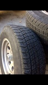 """American Racing Rims 15"""" with Tires"""