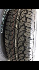 Brand new 265/75R16 all terrain tyres