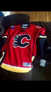 Calgary flames jersey signed by Jerome iginla