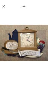 Vintage kitchen harvest clock