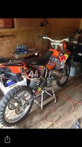 2003 ktm 200 sx ( may trade for 87 and older square body truck)