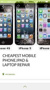 CHEAPEST MOBILE PHONE IPAD & LAPTOP REPAIR Mirrabooka Stirling Area Preview