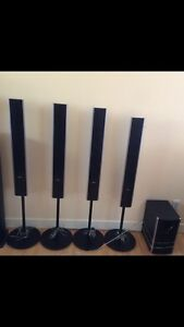 Sony Home Theatre System - 6 speakers plus tuner