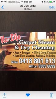 1rom $39 - 2room $50 - 3room 60 Nu-Life Carpet Steam & Dry Cleaning  Joondalup Joondalup Area Preview