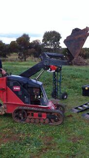 Toro TX413 mini loader Digger Dingo  Murray Bridge Murray Bridge Area Preview