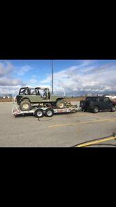 Stretched Jeep cj7