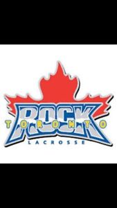 TORONTO ROCK LACROSSE - LESS THAN COST - FRONT ROW GREENS