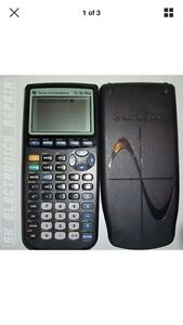 Ti-83 plus graphing calculator Texas Instruments
