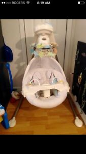 Fisher price Baby swing & toys...