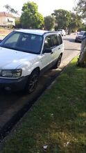 2005 subaru forester Ermington Parramatta Area Preview
