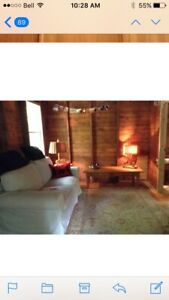 Cozy Kawartha cottage for rent,