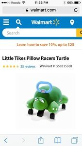 Little tikes pillow racer ride on toy