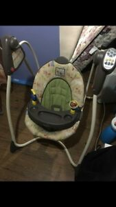 Winnie the Pooh infant Graco swing