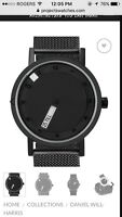 Lost Black Watch - Project watches
