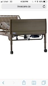 Invacare expensive hospital bed