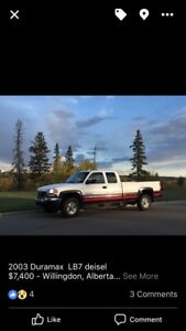 2003 Duramax 2 wheel drive LB7- RELIABLE workman's truck